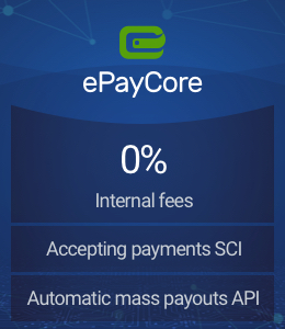 ePayCore - multipurpose payment service